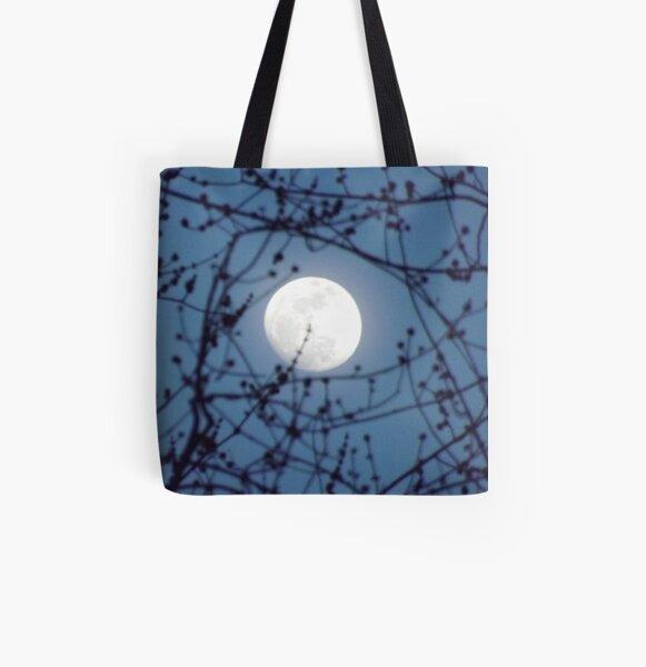 EARIE GLOW All Over Print Tote Bag