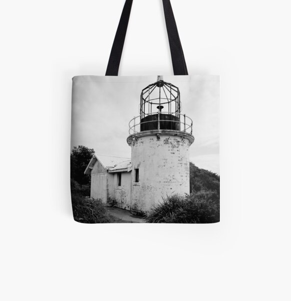 Old Lighthouse, Culburra Beach All Over Print Tote Bag