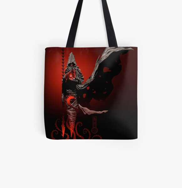The Black King's Bishop All Over Print Tote Bag