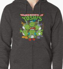 Teenage Mutant Ninja Yoshis Zipped Hoodie