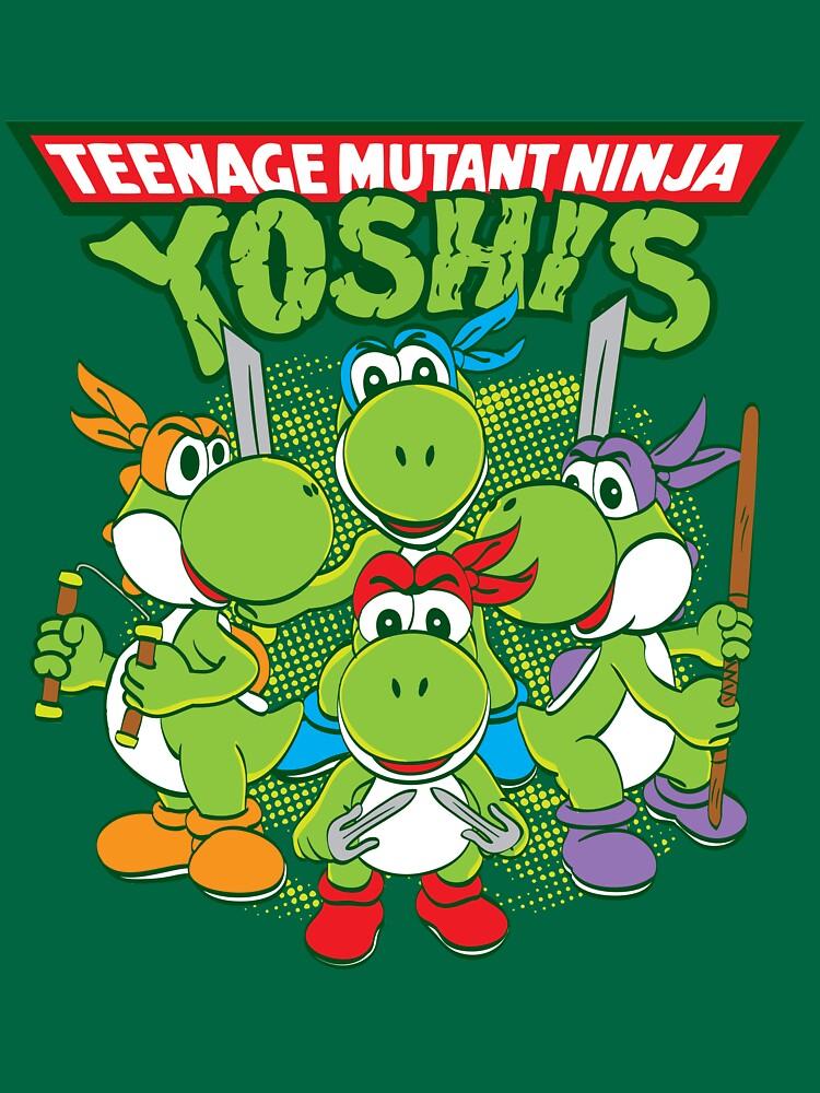 Teenage Mutant Ninja Yoshis by Daletheskater