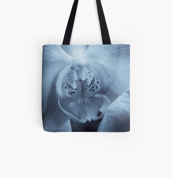 Moth Orchid All Over Print Tote Bag