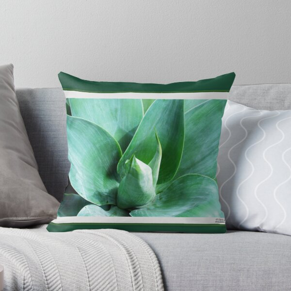 The Color of Future Throw Pillow