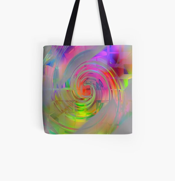 Endless All Over Print Tote Bag