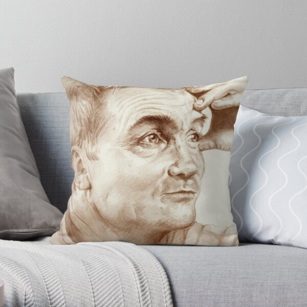 Bradley Walsh Throw Pillow