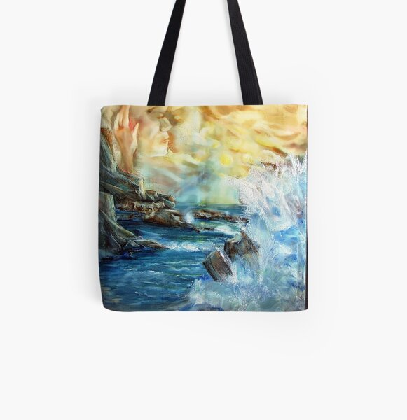 The kiss Allover-Print Tote Bag