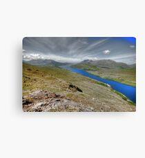 Killary Fjord View Canvas Print