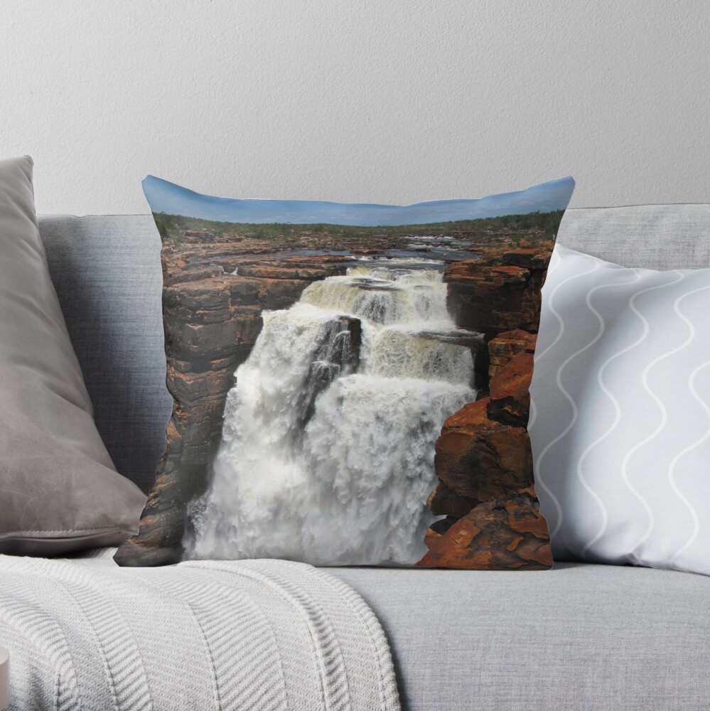 Top of the George Throw Pillow