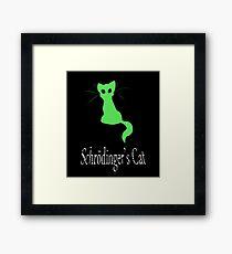 Schrödinger's Cat Framed Print