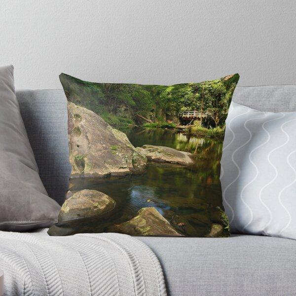 Tarra River - Victoria Throw Pillow