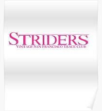 TDK Striders Running Club Poster