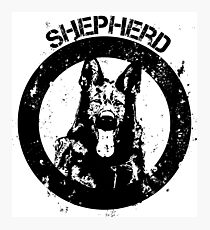 GSD - Shepherd Photographic Print