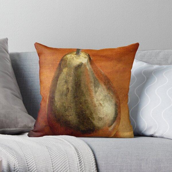 A pear © Throw Pillow