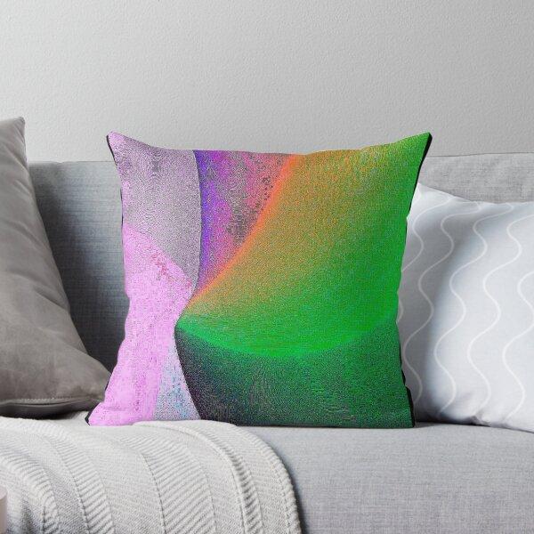 My Pixelated Dreamwork  Throw Pillow