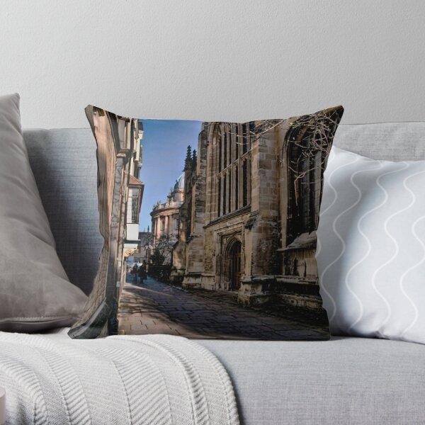 OXFORD....STREET..?! Throw Pillow