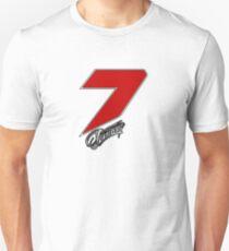 Kimi Räikkönen 7 red Unisex T-Shirt