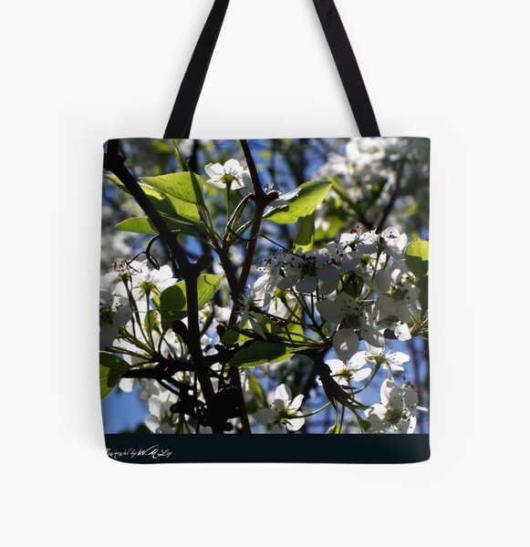 renewal (blossoms and light) All Over Print Tote Bag