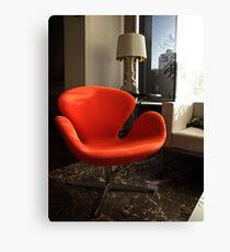 Arne Jacobsen -  Swan Chair Canvas Print