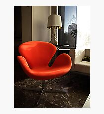 Arne Jacobsen -  Swan Chair Photographic Print