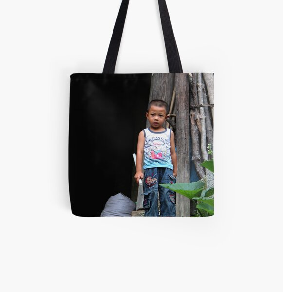 Curious All Over Print Tote Bag