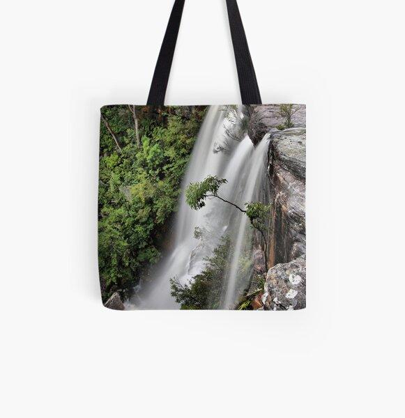 America Bay waterfall All Over Print Tote Bag