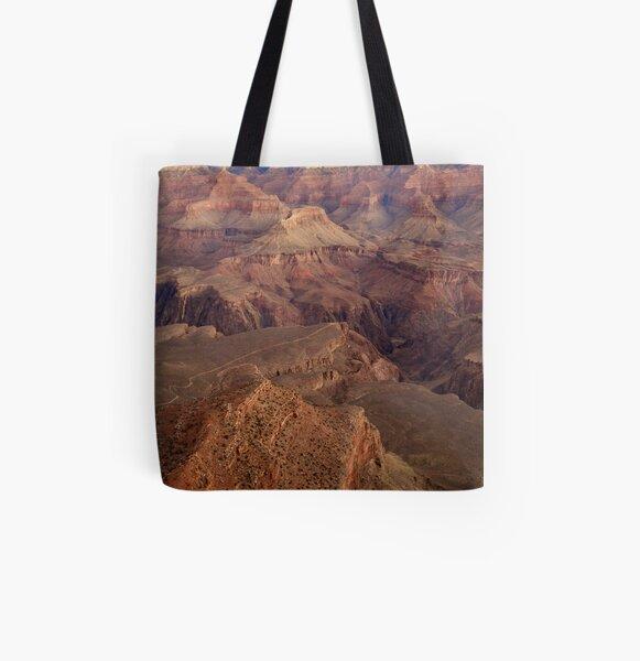 The Grand Canyon All Over Print Tote Bag