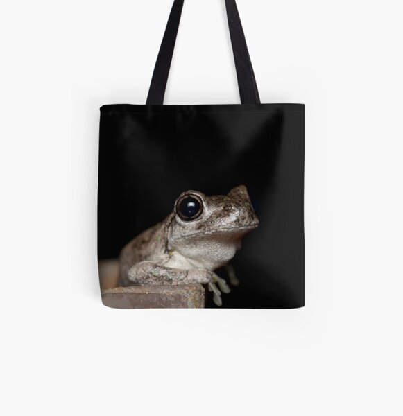 Peron's Tree Frog - Litoria peronii All Over Print Tote Bag