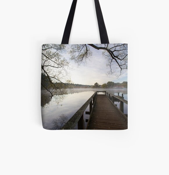 Lake Daylesford  All Over Print Tote Bag