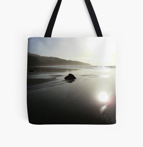 Raglan Reflection All Over Print Tote Bag