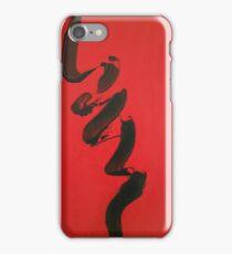 Black Ribbon iPhone Case/Skin