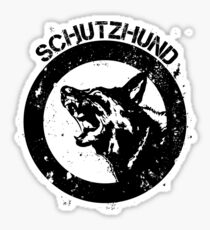 Schutzhund Sticker