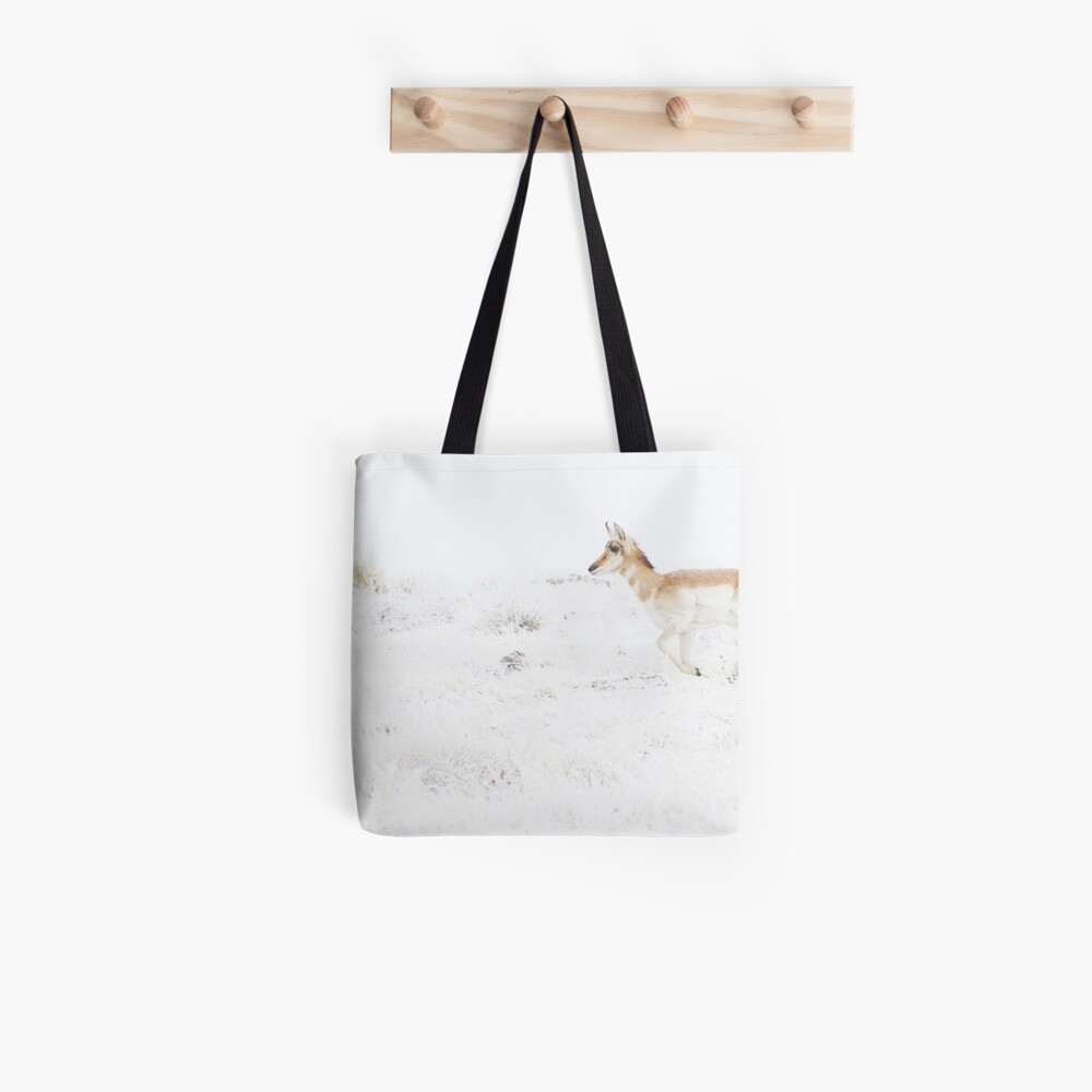 Panic... Catch The Herd Tote Bag
