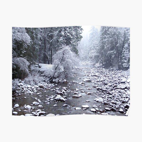 Winter in Yosemite Poster