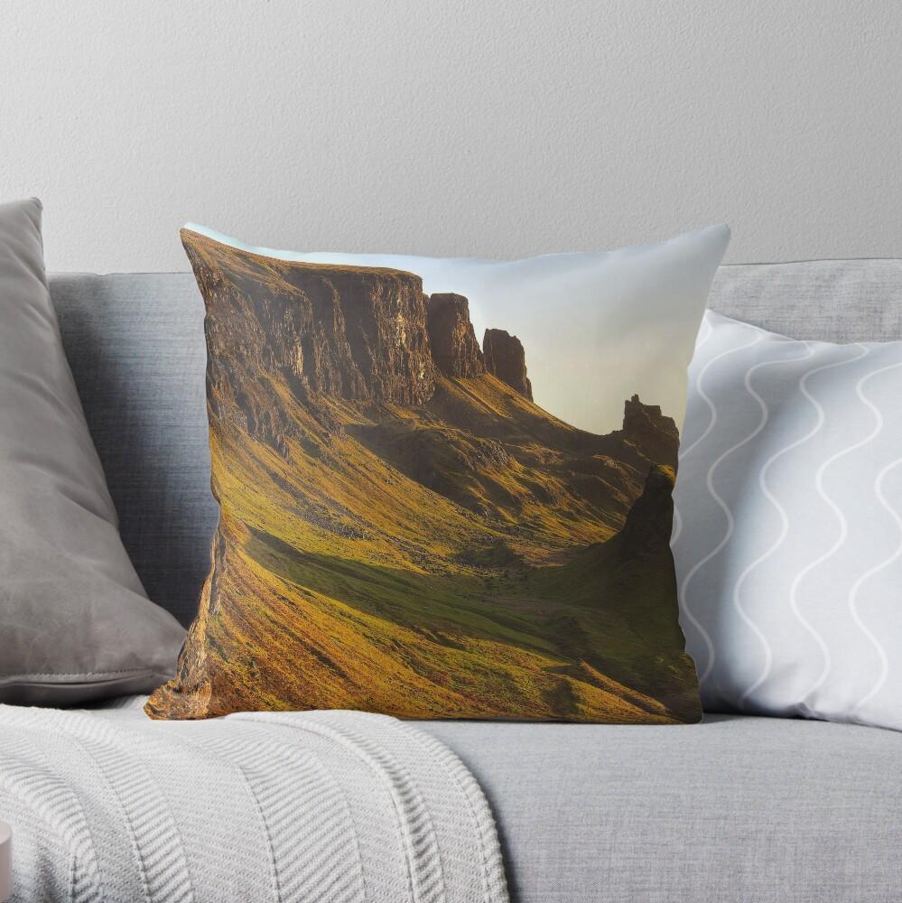 Quiraing (1) Throw Pillow