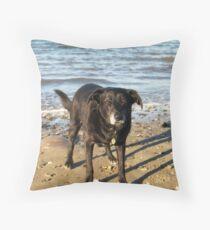 Shela at sea! Throw Pillow
