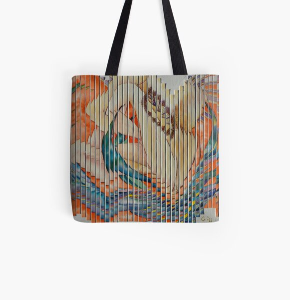 Extreme Landscape All Over Print Tote Bag