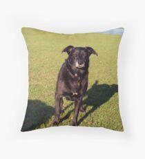 Shela of Llanfairfechan Throw Pillow