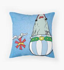 Asterisk & Obelisk Throw Pillow