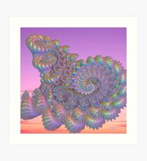 The Unknown Beauty Art Print