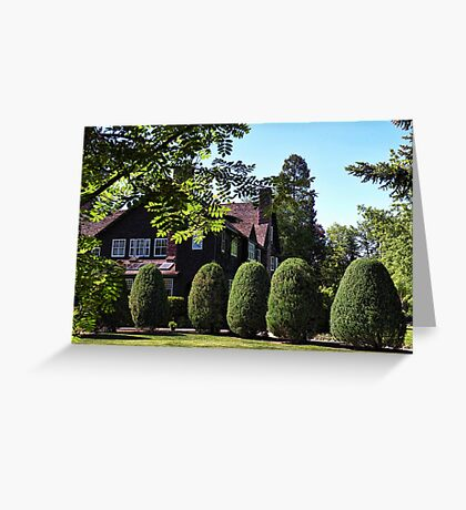 Conrad Mansion Greeting Card