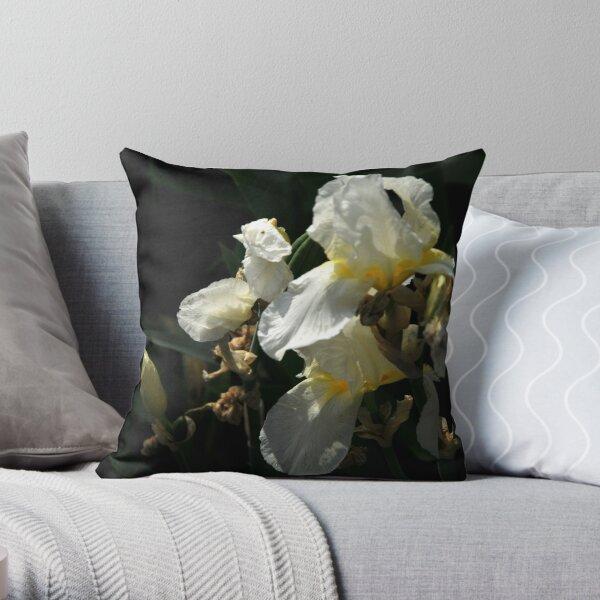 Auvers Iris M Throw Pillow