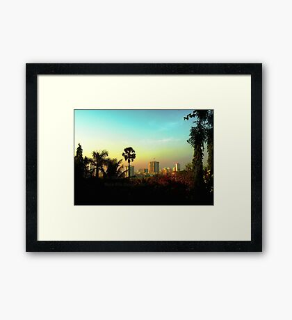 Malad Skyline (Mumbai, India) Framed Print
