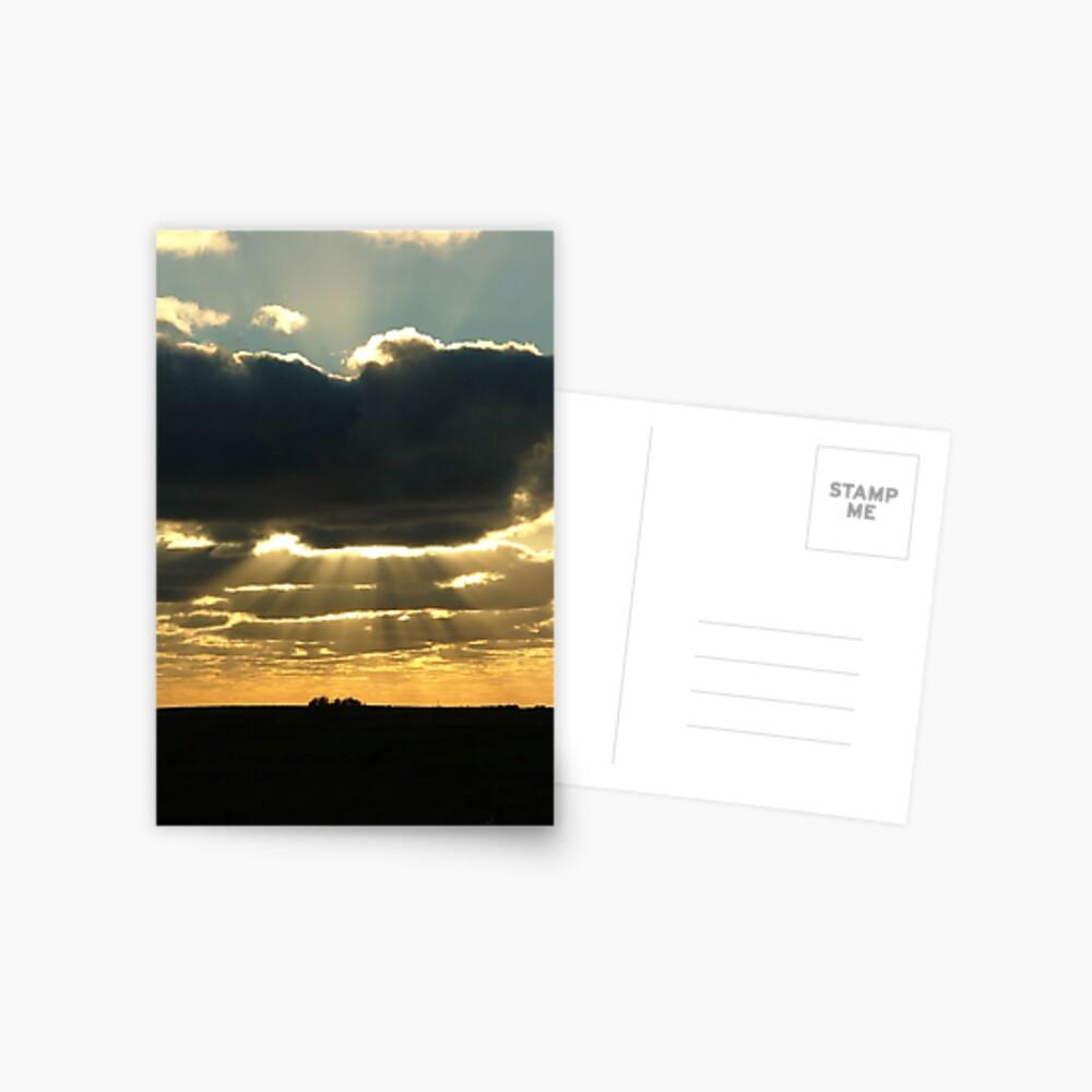 Divine Intervention Postcard