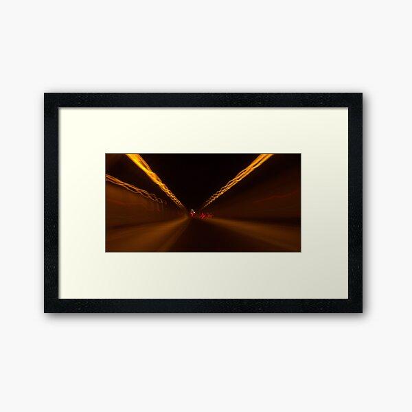 Light+Motion 1 Framed Art Print