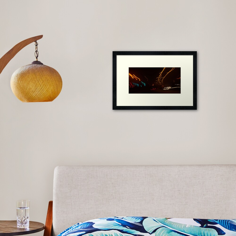 Light+Motion 2 Framed Art Print