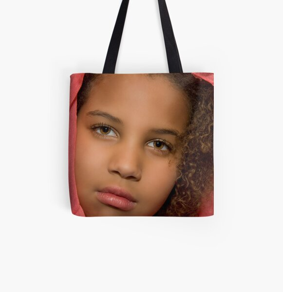 When a glance can stop you in tour tracks... All Over Print Tote Bag