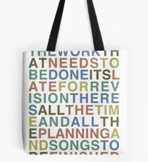 Someone Great - LCD Soundsystem Tote Bag
