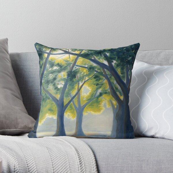 Trees for Steve Throw Pillow