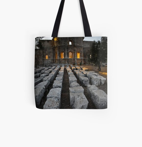 St Simeon's Temple All Over Print Tote Bag