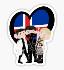 Eurovision Iceland - Hatari Sticker